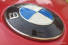 Genuine BMW Metal Hood Emblem Roundel E90 E91 E92 E93 M3 335i 335xi 335is 330i