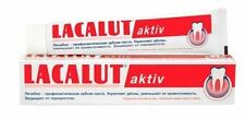 LACALUT AKTIV - Toothpaste / stops bleeding , Best QUALITY