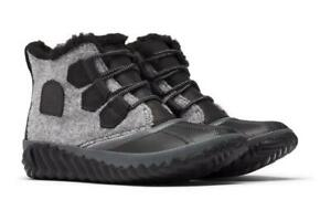 Sorel Out N About Plus Black Rain Women's Boot - NEW - Choose Size
