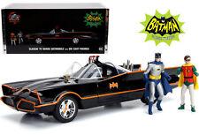 Classic TV Series 1:18 Batmobile w/Lights & Diecast Batman & Robin by Jada 98625