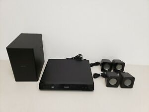 Philips HTB3524/F7 3D Blu Ray Player Home Theater System Tested Working READ