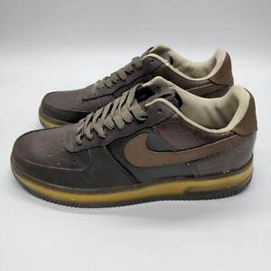 Nike Air Force 1 Supreme '07 Plus Brown Size 11 316184-221 2009