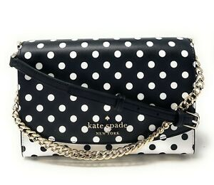 Kate Spade Carson Convertible Crossbody Clutch Handbag WKR00119 $279