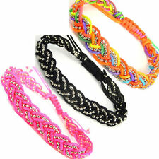 Fabric Stainless Steel Fashion Bracelets