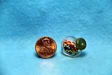 Dollhouse Miniature Gumball / Candy Jar for Countertop ~ MUL1813B