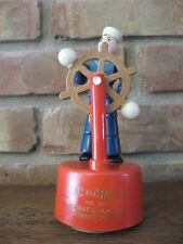 Vintage Rare Kohner - Jac the Sailor Press Action Puppet Toy, 1940's