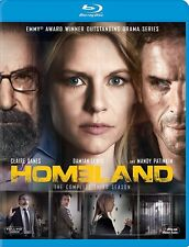 Homeland: Season 3 BLU RAY- Brand New -Fast Ship! (HMV-178/HMV-31)
