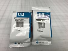 2 Pc Genune Hp 60 CC640WN Black Ink Cartridge for deskjet D1660 D2530 D2545