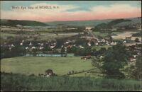 Nichols NY Birdseye View c1910 Postcard