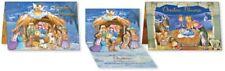 Tarjeta De Navidad Pop Up 3D Niños Navidad Tarjetas Escena Natividad tradicional Pack 2