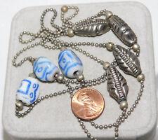 4b3d36edb065 Collares y colgantes de bisutería color principal azul cristal ...