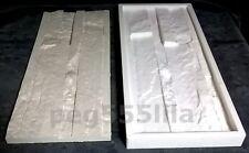 Silikonform 50 cm x 20 cm, Schieferstruktur Gießform Verblender Klinker 031