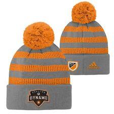 Adidas MLS Youth Houston Dynamo FC Cuff Hat w/Pom Beanie, Small (8)