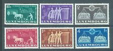 Luxembourg 1951 3Fr United Europe sg.543-8 Lightly MH set of 6