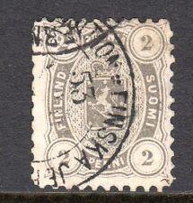 Finland - 1875 Def. Coat of Arms Mi. 12Ayb FU (Perf. 11) d