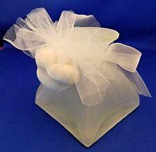 Italian Tuscany Wedding Favor Glass Candlestick Candle Holder in Original Box EC