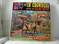 """DOBIE GRAY -(LP)-SINGS FOR """"IN"""" CROWDERS THAT GO """"GO-GO"""" - CHARGER CHR-2002-1965"""