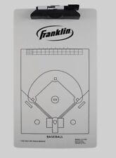 Franklin Sports Baseball Coaching Clipboard White