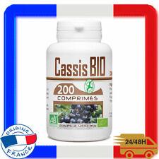 Cassis Bio Complement Alimentaire Douleur Articulation Genoux Main 200 comprimes