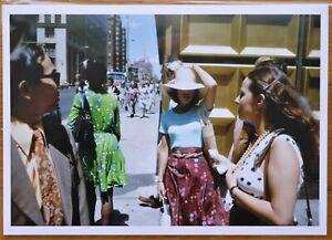 SIGNED LTD ED PHOTOGRAPH/PRINT - JOEL MEYEROWITZ  MADISON AVENUE, NEW YORK, 1974