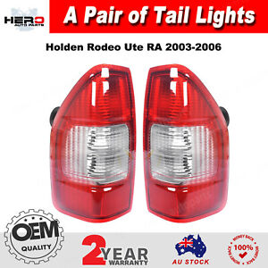 Pair Tail Light Rear Lamp For Holden Rodeo Ute RA 2003~2006 Left and Right Side