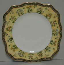 Wedgwood India Square Salad Plate Unused More Items Available