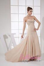 Unbranded Chiffon Formal Sleeveless Dresses for Women