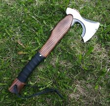 Hiking axe handmade, hunting, fishing tourist equipment Compact tactical hatchet
