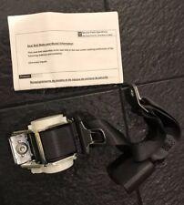New Chevrolet Rear Center Seat Belt Kit Black Monte Carlo / Impala 89025885