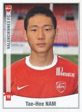 516 TAE-HEE NAM SOUTH KOREA VALENCIENNES.FC  STICKER FOOT 2011 PANINI