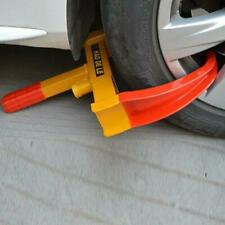 Car Truck Anti-Theft Towing Wheel Lock Clamp Boot Tire Claw Trailer Red & Yellow