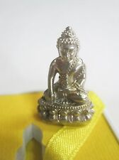 Thai seated Buddha amulet Phra Kring Chaosua Yaowarat first series Wat Trimit