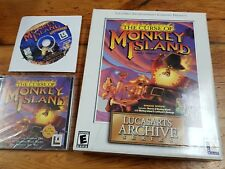 PC the Curse of Monkey Island special bonus Secret of Monkey Island 1 and 2