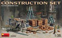 MINIART 1:35 KIT IN PLASTICA ACCESSORI PER DIORAMA CONSTRUCTION SET  ART 35594