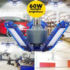 60W Deformable Garage LED Light 6000LM Workshop Shop Ceiling Lamp