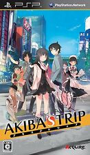 Used PSP ACQUIRE AKIBA'S TRIP Japan Import ((Free shipping))、