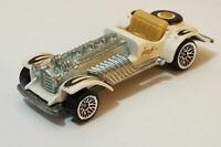 """Hot Wheels """"Sweet 16"""" 1970 1/64 White Die Cast Car Loose"""