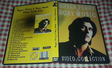 Bryan Ferry & Roxy Music - Video Collection DVD - RARE SPECIAL FAN EDITION