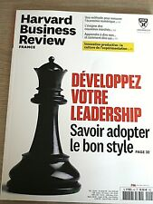 HARVARD BUSINESS REVIEW  N° 43 - FEVRIER  2021  /  DEVELOPPEZ VOTRE LEADERSHIP
