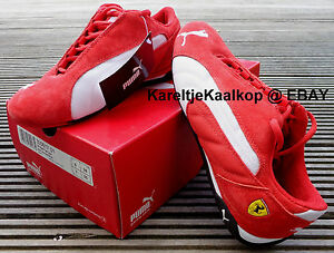 Official Puma Ferrari Low Sneakers in size US 7 / Euro 39