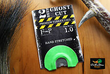 FIELD PROVEN CALLS 2 REED GHOST CUT DIAPHRAGM MOUTH TURKEY CALL