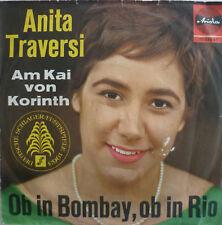 """7"""" 1962 RARE ! ANITA TRAVERSI : Ob In Bombay ob In Rio"""