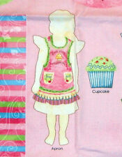 Cupcake Apron Sewing Kit Tea & Sweets Material Cloth Make the Best Treats