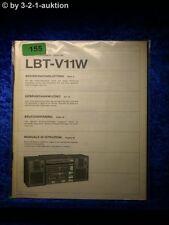 Sony Bedienungsanleitung LBT V11W Component System (#0155)