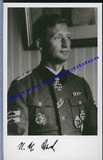 Karl Heinz Lichte signed photo.