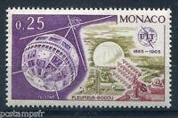 MONACO 1965, timbre 668, ESPACE, SATELLITE TELSTAR I, UIT, neuf**