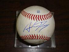 Austin Romine---Autographed Baseball