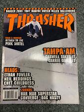 Thrasher Skateboard Magazine Issue 256 May 2002 Jason Adams Cover