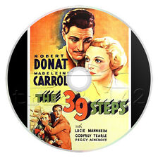 The 39 Steps (1935) Alfred Hitchcock Mystery, Thriller Movie on DVD
