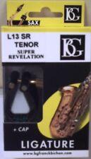 TENOR SAXOPHONE LIGATURE AND CAP  BG Super Revelation L13SR for Bb SAX